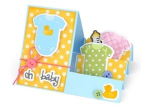 KARTEN und Zubehör / Cards Base Cards: Quilted cards, set of 4