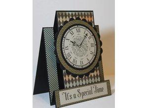 KARTEN und Zubehör / Cards Base kort: 4 Quilt Center Billetter