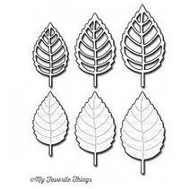 Stanz - und Prägeschablone, My Favorite Things Die-namics Layered Leaves
