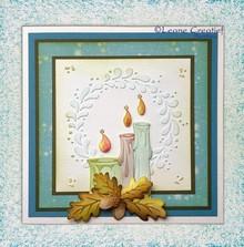 Leane Creatief - Lea'bilities Punzonatura - e goffratura stencil, candele