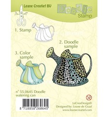 Leane Creatief - Lea'bilities Clear stamps, Leane Creative Watering Can