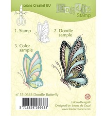 Leane Creatief - Lea'bilities Clear stamps, Leane Creative, butterfly