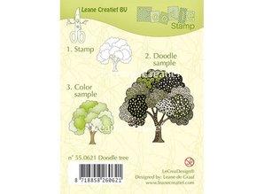 Leane Creatief - Lea'bilities Gennemsigtige frimærker, doodle stempel: Tree