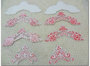 Marianne Design Cutting and embossing stencils, LR0281, Creatables, Petra's corners