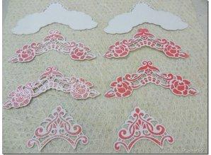 Marianne Design Skæring og prægning stencils, LR0281, Creatables, Petra hjørner