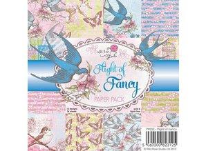 Wild Rose Studio`s Designere blok, Flight of Fancy