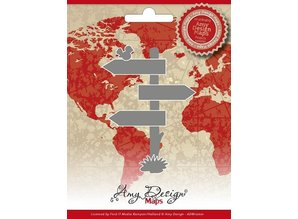 Amy Design Cutting and embossing stencils, Amy Design Maps Directory