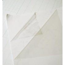 Dobbeltsidet klæbende ark, 1 A4 ark