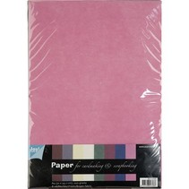 patrones textiles, juego de papel A4, 10 hojas de surtido