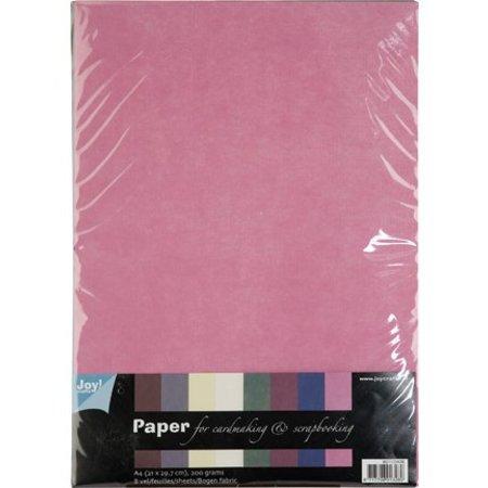 DESIGNER BLÖCKE  / DESIGNER PAPER patrones textiles, juego de papel A4, 10 hojas de surtido