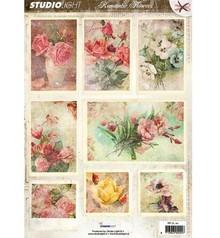 Vintage, Nostalgia und Shabby Shic A4 Gestantzte 3D Bogen - Romantic Picture