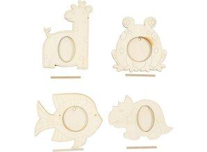 Objekten zum Dekorieren / objects for decorating 4 frame, size 10x15 cm
