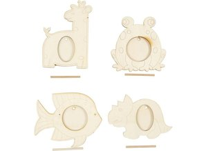 Objekten zum Dekorieren / objects for decorating 4 marco, tamaño 10x15 cm