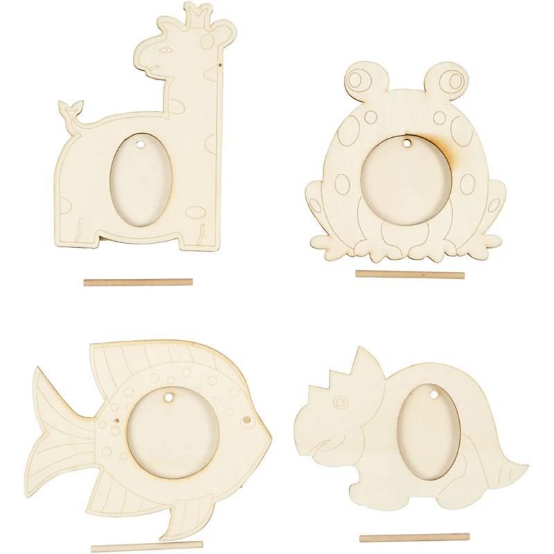 Objekten zum Dekorieren / objects for decorating 4 Rahmen, Größe ...