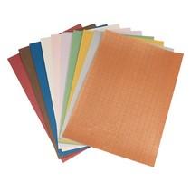 Mønstret papir sæt A4, 10 ark spænder