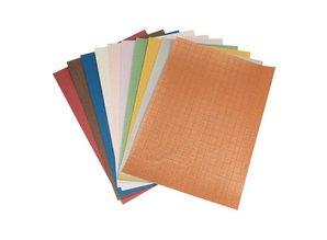 DESIGNER BLÖCKE  / DESIGNER PAPER Carta Patterned set A4, gamma 10 fogli