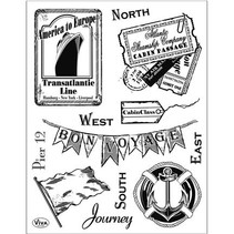 Transparent Stempel, Journey