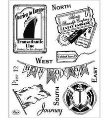 Viva Dekor und My paperworld Clear stamps, Journey