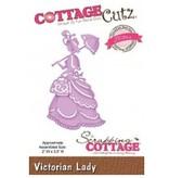 Cottage Cutz Stansning og prægning skabeloner CottageCutz, Victorian Lady