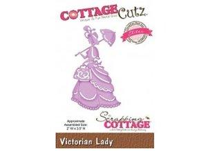Cottage Cutz plantillas de perforación y gofrado CottageCutz, Señora del Victorian