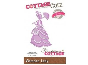 Cottage Cutz Punching and embossing templates CottageCutz, Victorian Lady