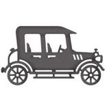Cottage Cutz Skæring og prægning stencils, CottageCutz, Vintage Car