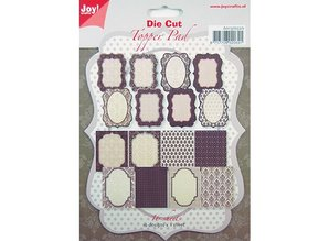 Joy!Crafts und JM Creation 8 x 2 Designer Labels