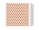 Marianne Design Embossingfolder + plantilla de perforación del corazón