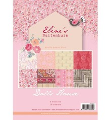 DESIGNER BLÖCKE  / DESIGNER PAPER Pretty Papers - A4 - Eline's Doll House