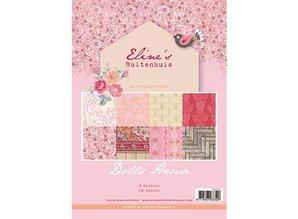 DESIGNER BLÖCKE  / DESIGNER PAPER Smukke Papers - A4 - Eline s dukke hus