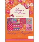 DESIGNER BLÖCKE  / DESIGNER PAPER Pretty Papers - A4 - invierno Casa de Eline