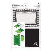 A4 embossing folders
