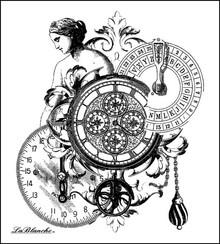LaBlanche Lablanche Stempel: Målinger Collage
