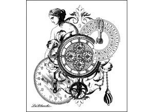 LaBlanche Lablanche sellos: Mediciones Collage