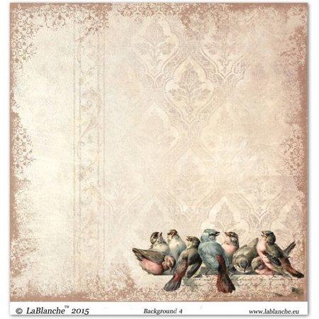 """Designer Papier Scrapbooking: 30,5 x 30,5 cm Papier Designpapier """"Background"""" 4"""