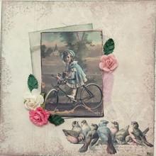 "Designer Papier Scrapbooking: 30,5 x 30,5 cm Papier Carta Design ""Background"" 4"