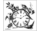 LaBlanche LaBlanche Stamp: Floral Clock