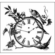 Lablanche Sello: Reloj Floral
