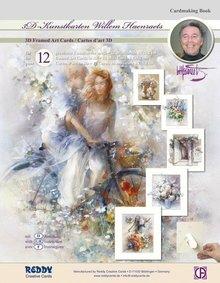 BASTELSETS / CRAFT KITS: Craft portafoglio d'epoca per la progettazione di 12 carte