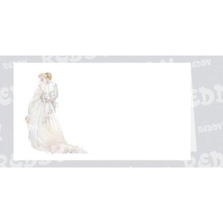 BASTELSETS / CRAFT KITS: Edeles de cartas para ocasiones festivas, los recién casados blanco