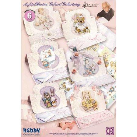BASTELSETS / CRAFT KITS: Bastelset fødselsdagskort
