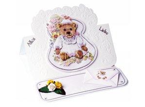 BASTELSETS / CRAFT KITS: Bastelset birthday cards