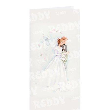 BASTELSETS / CRAFT KITS: Edeles af kort til festlige lejligheder, Wedding Cake White-Black