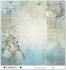 """Designer Papier Scrapbooking: 30,5 x 30,5 cm Papier Designpapier """"Vintage""""04"""