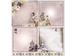"""Designer Papier Scrapbooking: 30,5 x 30,5 cm Papier Design paper """"nostalgia"""""""