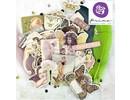 """Prima Marketing und Petaloo Truciolare Stickers, collezione """"Butterfly"""""""