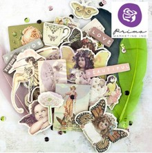 """Prima Marketing und Petaloo Chipboard Stickers, Kollektion """"Butterflys"""""""