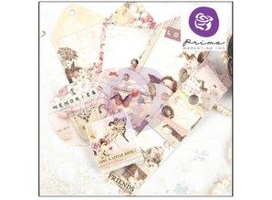 """Embellishments / Verzierungen Etiketter fra samlingen """"Butterfly"""""""
