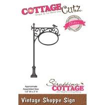 Stanz- und Prägeschablonen, CottageCutz Vintage Wegweiser