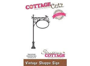 Cottage Cutz Skæring og prægning stencils, CottageCutz vintage Bliv